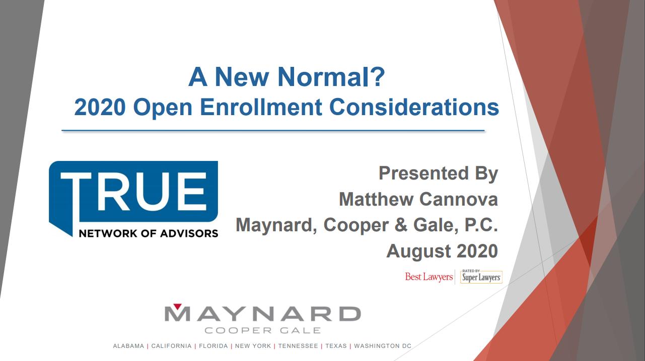 Maynard Webinar Title Page Aug 2020